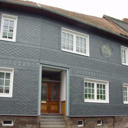 Schieferfassade in Küllstedt
