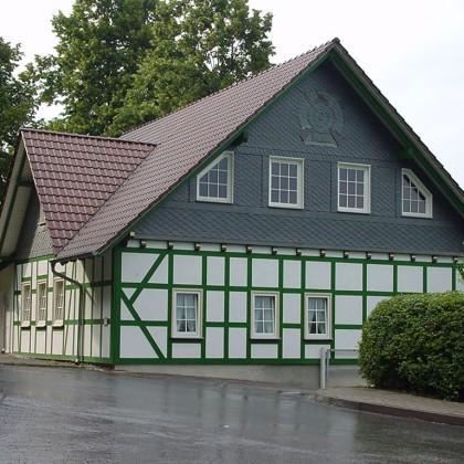 Neubau Dach und Fassade Schützenhaus Küllstedt