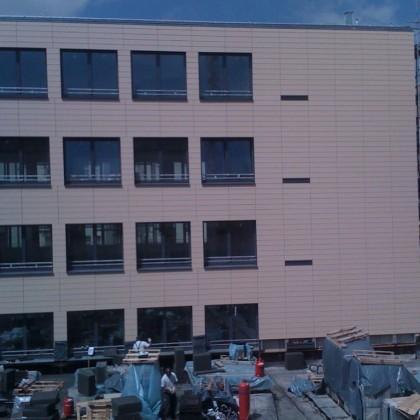 Neubau Außenfassade Regensburg