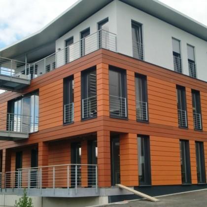 Neubau Außenfassade Schaikheim